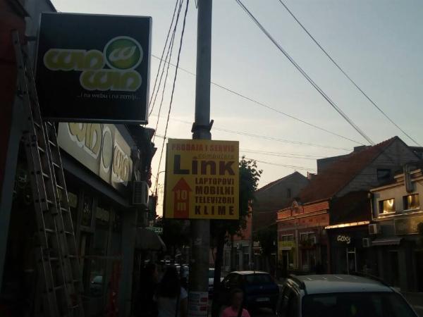 WinWin, svetleće reklame, svetleća reklama, Beograd
