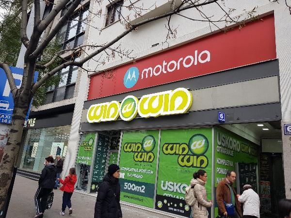 WinWin, 3D reklame, svetleće reklame Beograd